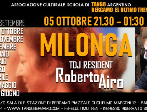 Milonga 2019 Ottobre 05