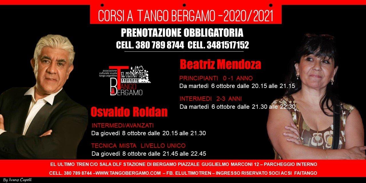 Inizio Corsi 2020 Beatriz Mendoza